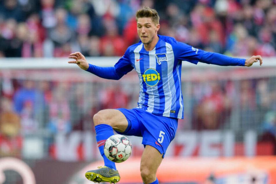 Niklas Stark spielt nun schon seit vier Jahren für Hertha BSC.