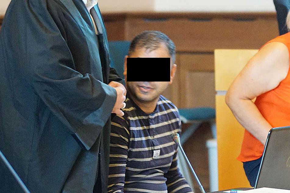 Armen G. (30) soll versucht haben einen Erfurter um 30.000 Euro zu erpressen.