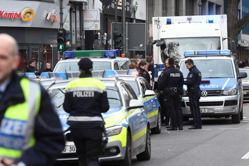 Die Polizei am Zülpicher Platz in Köln (Archivaufnahme)