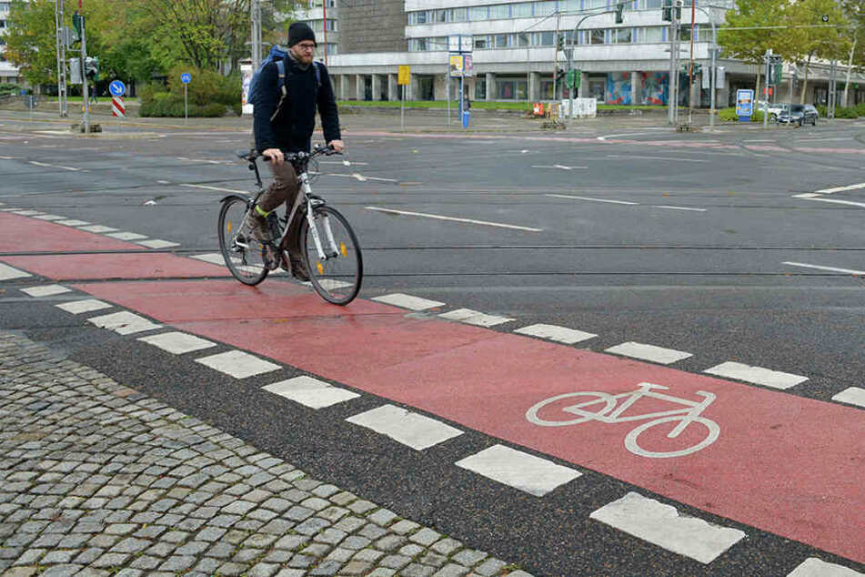 Chemnitzer Fahrradfahrer wollen nicht mehr auf dem Radweg fahren