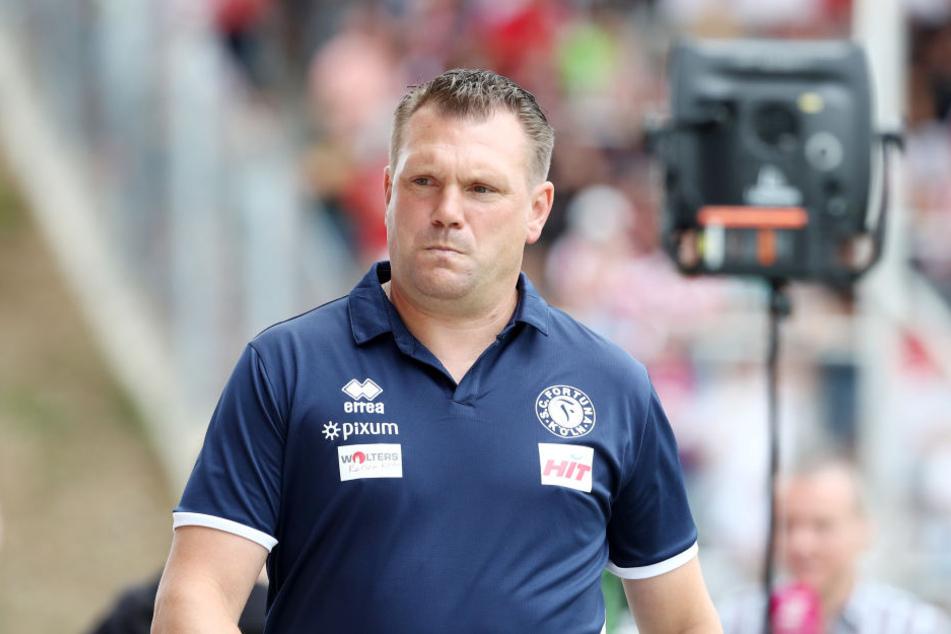 Fortuna-Coach Uwe Koschinat.