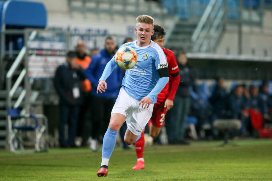 Der Chemnitzer FC muss in den kommenden Partien auf Philipp Sturm verzichten.