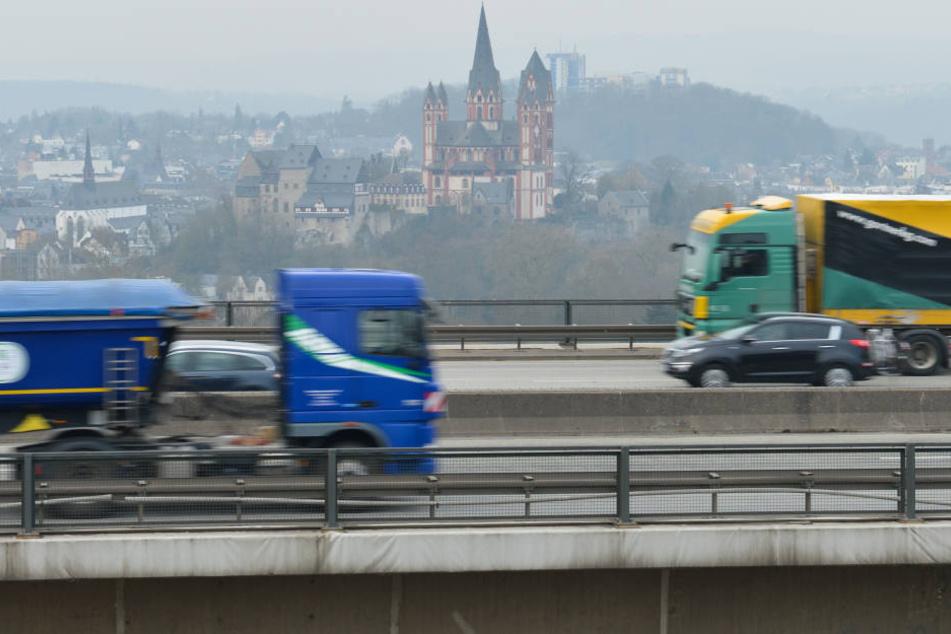 In Limburg wird der Stickstoffdioxid-Grenzwert deutlich überschritten. (Symbolbild)