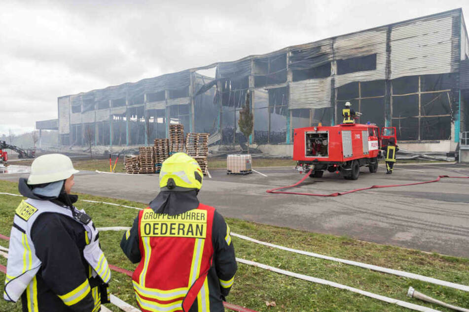 Chemnitz: Nach verheerendem Großfeuer: So geht's weiter in der ausgebrannten Firma