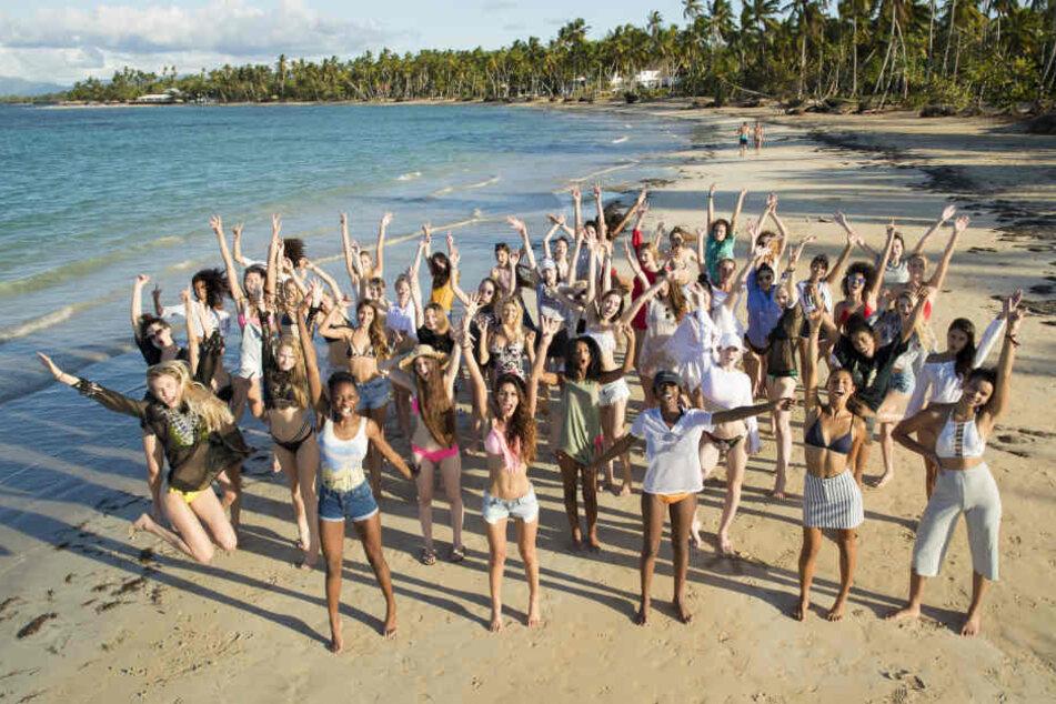 Die Top-50 wurde zum Auftakt der neuen GNTM-Staffel in die Karibik eingeladen.