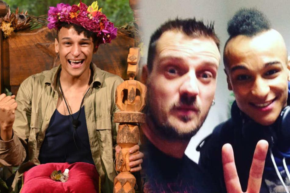 """Dschungelcamp: Dschungelcamp: So gratuliert """"Stereoact""""-Ric dem Sieger Prince Damien"""