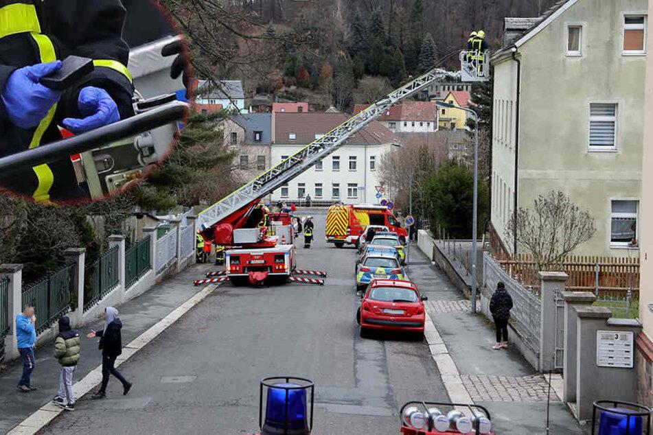 Er sollte seinen Entzug antreten: Mann flüchtet vor Polizei aufs Dach