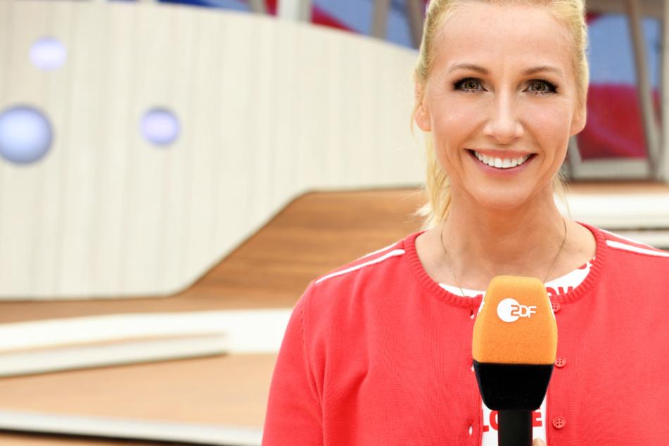 "Andrea ""Kiwi"" Kiewel moderiert (mit Unterbrechung) seit dem Jahr 2000 den ZDF-Fernsehgarten."
