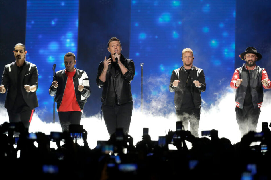 Nick Carter und die Backstreet Boys sind derzeit auf großer Welttournee. Es ist die größte Arena-Tour seit 18 Jahren für die Band.