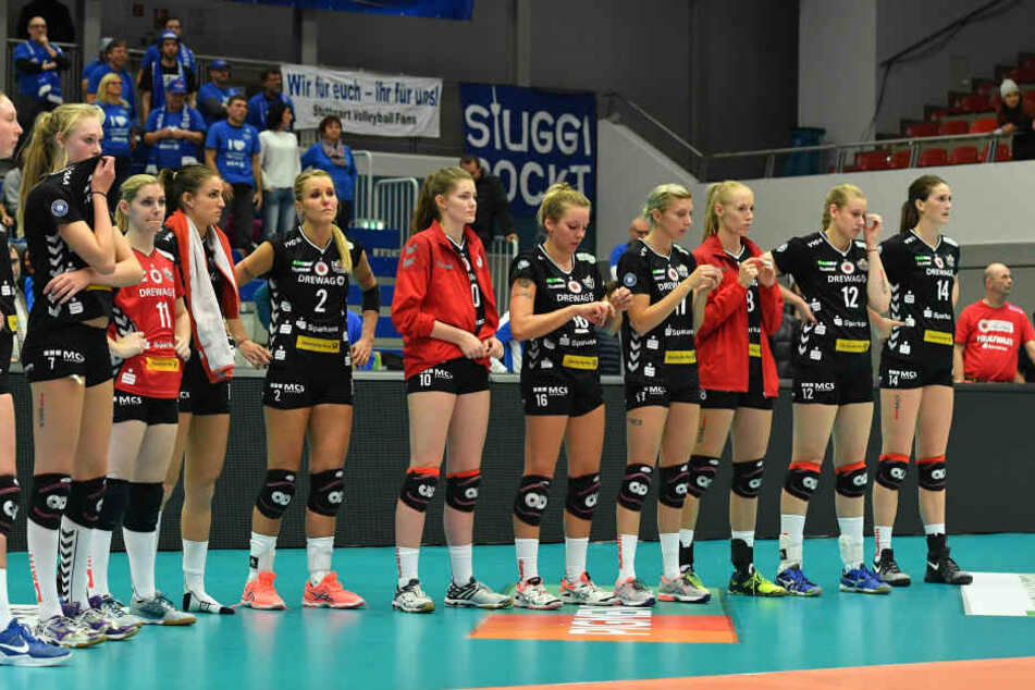 Die DSC-Schmetterlinge wollen gewinnen. Bloß nicht schon wieder eine Niederlage gegen Stuttgart.