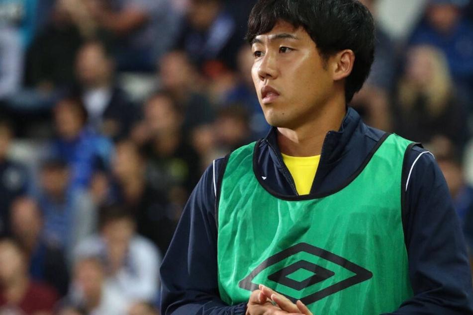 Demnächst im VfB-Trikot? Wataru Endo (26) kickt aktuell noch für VV St. Truiden.