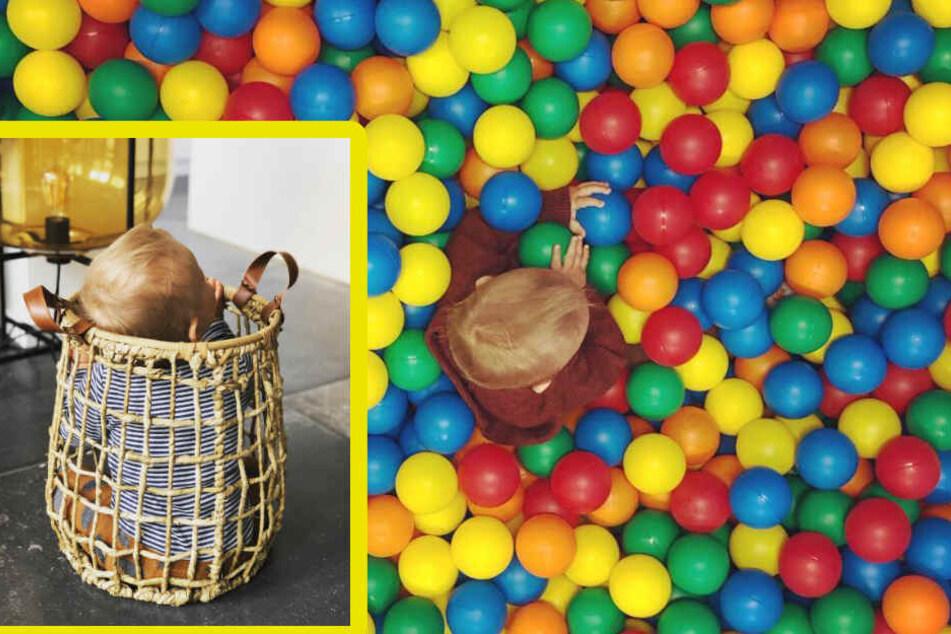 Diese beiden Bilder postete Wayne Carpendale, während Annemarie auf Dienstreise war. (Bildmontage)
