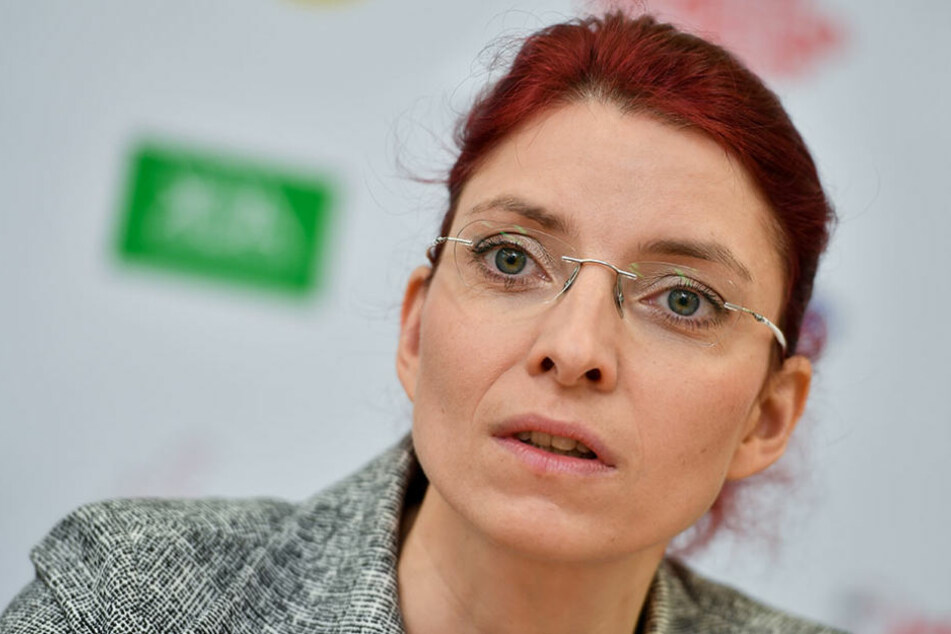Nach dem Unglück musste Diana Golze in einem Krankenhaus operiert werden.