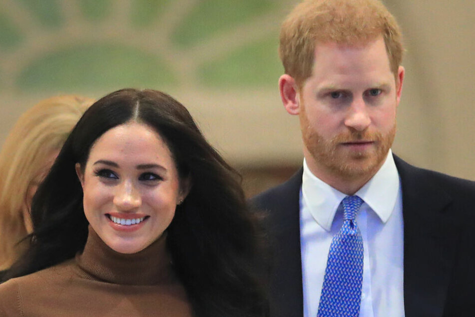 """Meghan, Herzogin von Sussex, und Prinz Harry, Herzog von Sussex nennen sich nicht mehr """"Königliche Hoheit"""" nennen."""