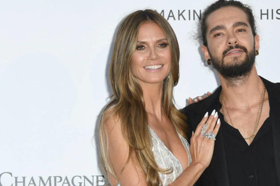 Nich nur in Cannes ist Tom Kaulitz an Heidi Klums Seite, auch in Düsseldorf sind er und sein Zwillingsbruder Bill mit von der Partie.