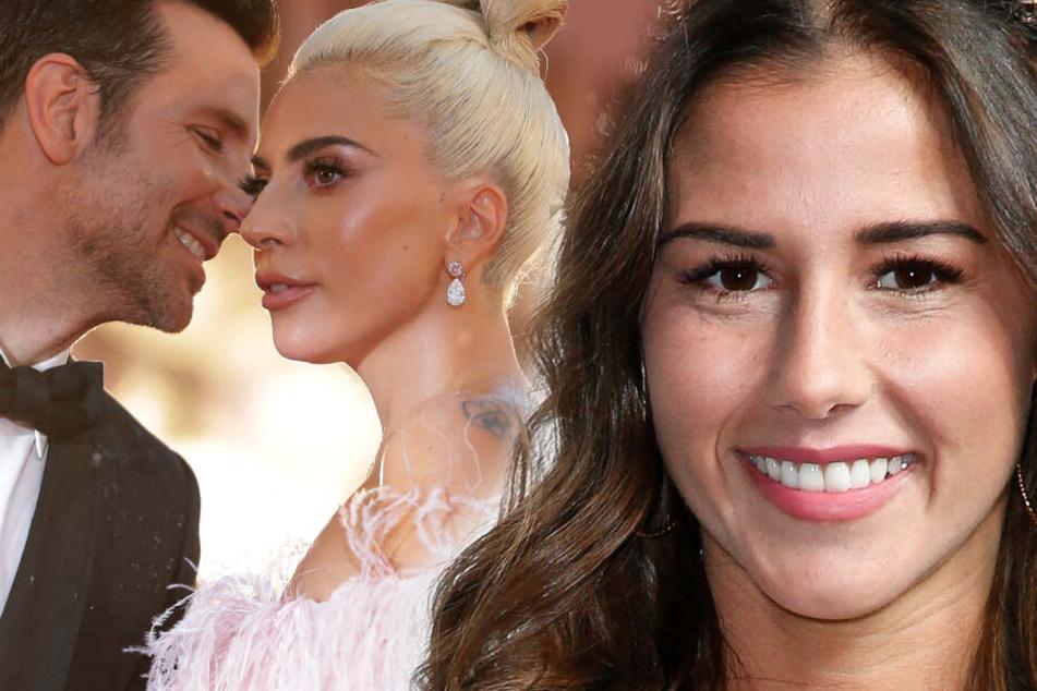 Sarah Lombardi hat ein Cover von Lady Gaga und Bradley Cooper gesungen. (Fotomontage).