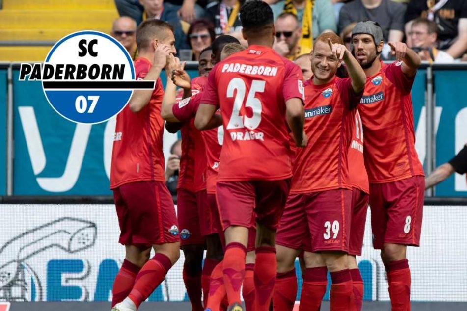 Trotz Dreier-Pleite bei Dynamo: Paderborn ist zurück in der Bundesliga!