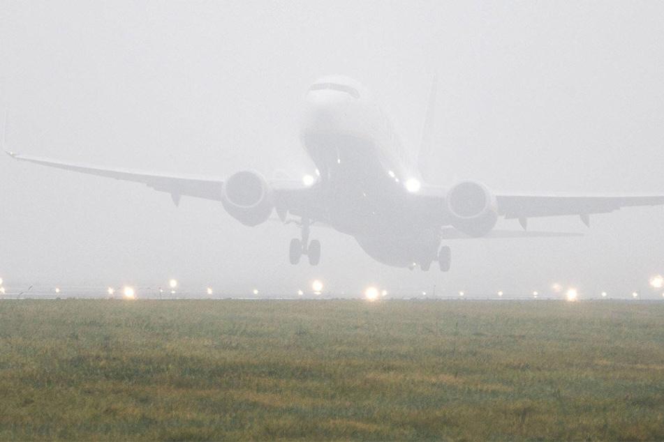 Das Dortmunder Flugzeug konnte nicht landen (Symbolbild).