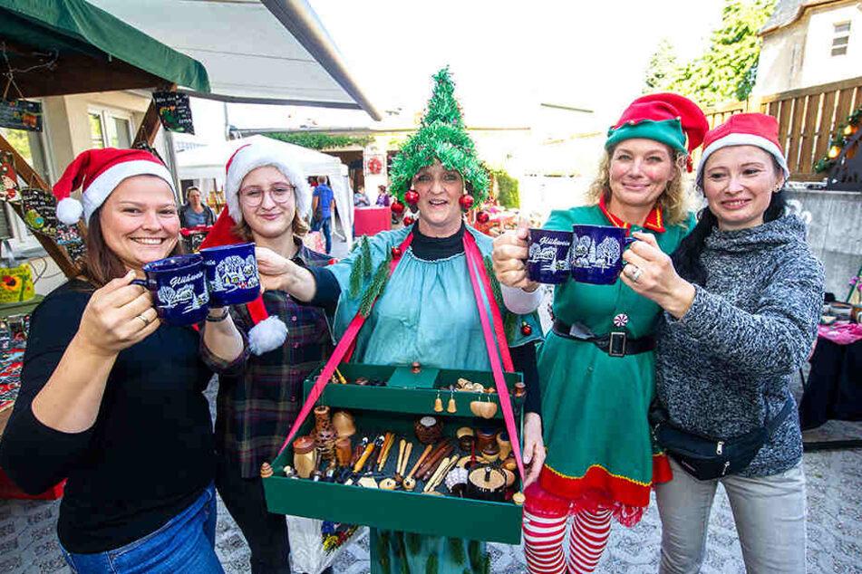 Erster Weihnachtsmarkt Sachsens öffnet schon