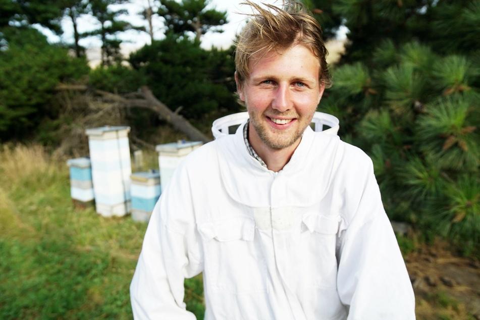 Imker Daniel (22) aus Neuseeland bekommt eine Abfuhr von Katja (23).