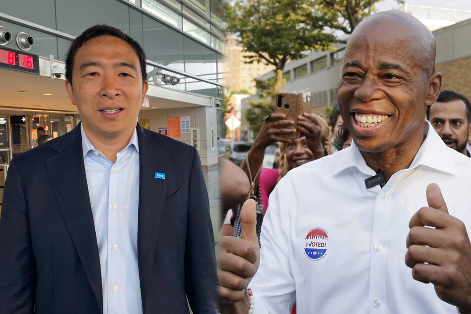 NYC Mayor Race: Adams takes strong lead in Democratic primary while Yang drops out