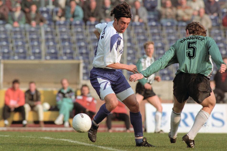Kujtim Shala spielte von 1993 bis 1995 für den Chemnitzer FC.