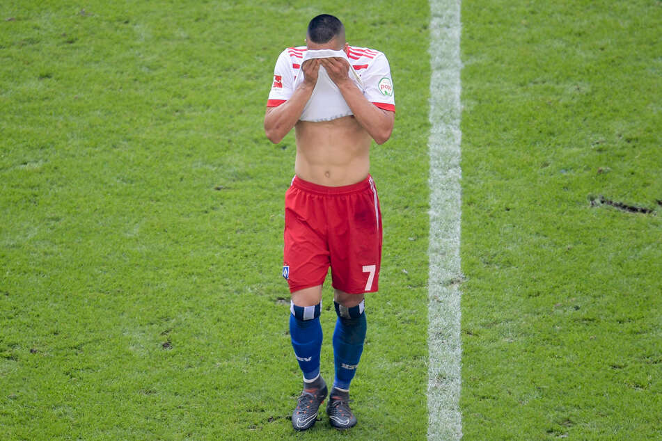 US-Boy Bobby Wood wird den HSV nach vier schwachen Jahren aller Voraussicht nach im Sommer verlassen. (Archivfoto)