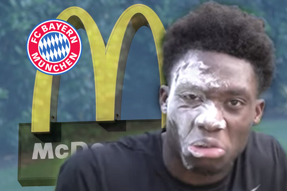 """Bayern-Granate Alphonso Davies ist sauer auf McDonald's: """"Falls ihr zuschaut ..."""""""