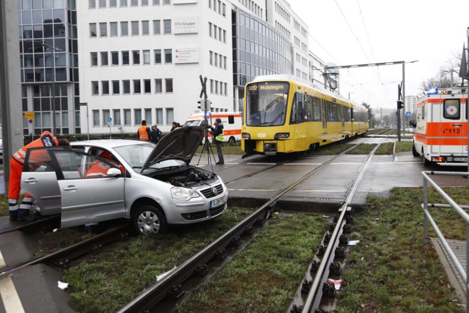Ein Blick auf die Unfallstelle.