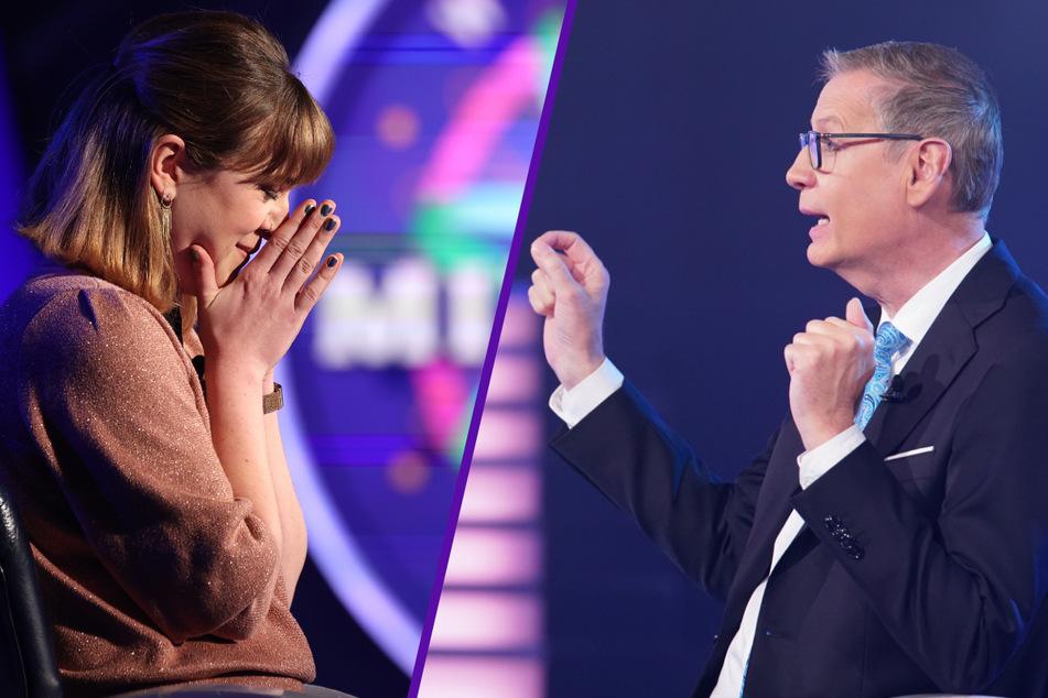 Wer wird Millionär: WWM-Kandidatin scheitert an Corona-Frage und kämpft mit den Tränen
