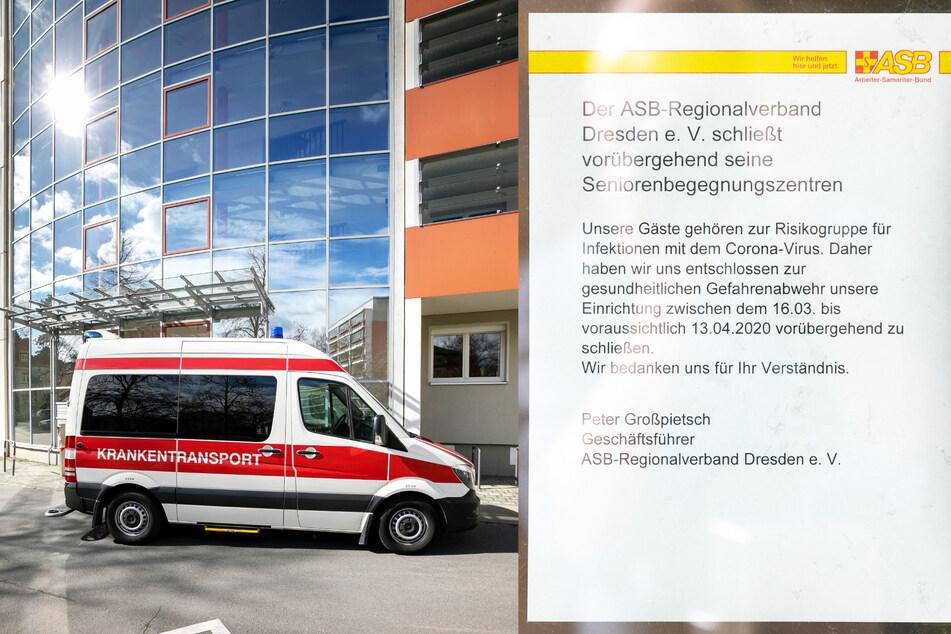 Wegen der Corona-Krise schließen auch Seniorenbegegnungszentren in Dresden.