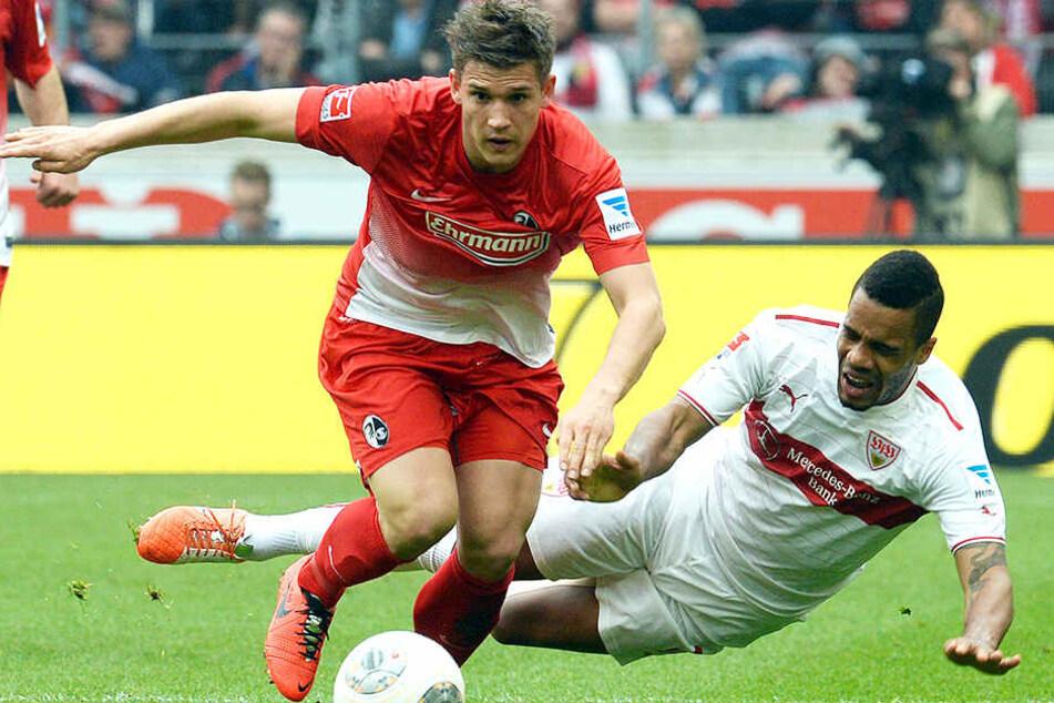 Oliver Sorg feierte beim SC Freiburg sein Bundesliga-Debüt und spielte insgesamt neun Jahre für die Breisgauer.
