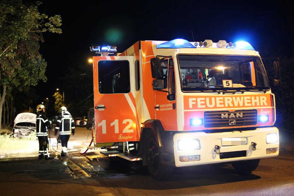Gegen 0.45 Uhr ging der Alarm bei der Feuerwehr ein.