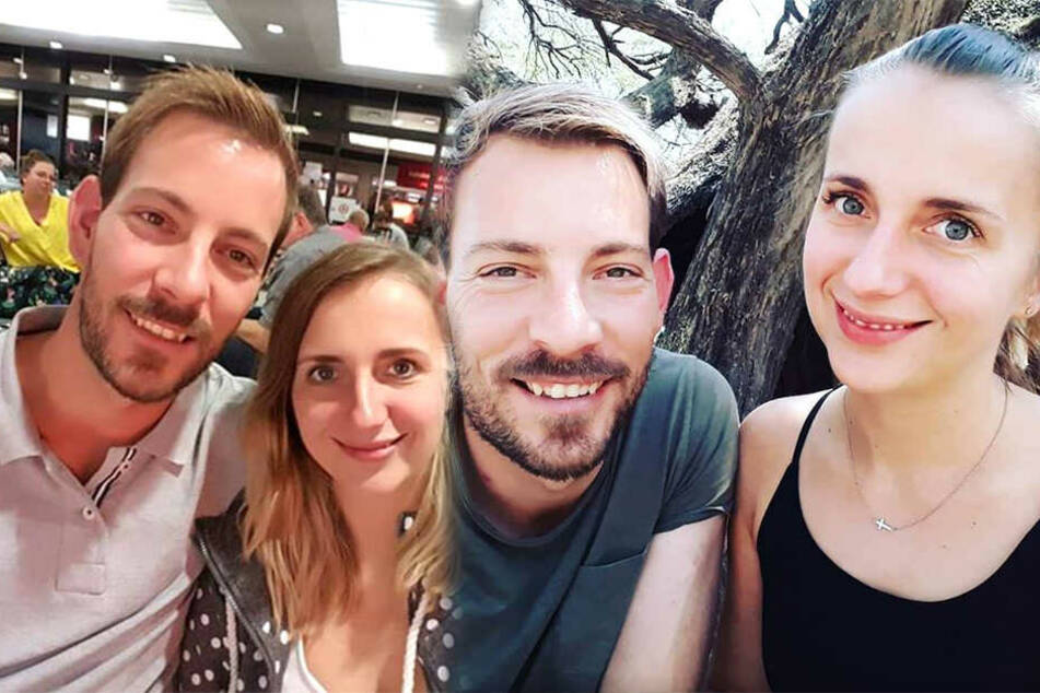 Ein Herz und eine Seele: Farmer Gerald (33) und seine Frau Anna (28).