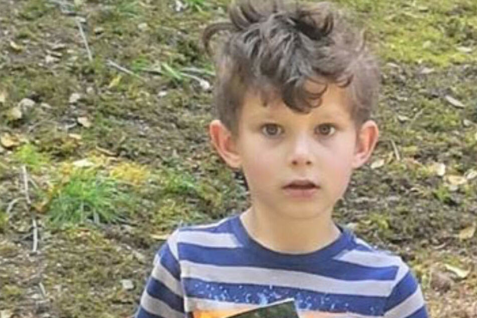 Tyler Wickham (6) bereitete seiner Mutter Sorgenfalten.