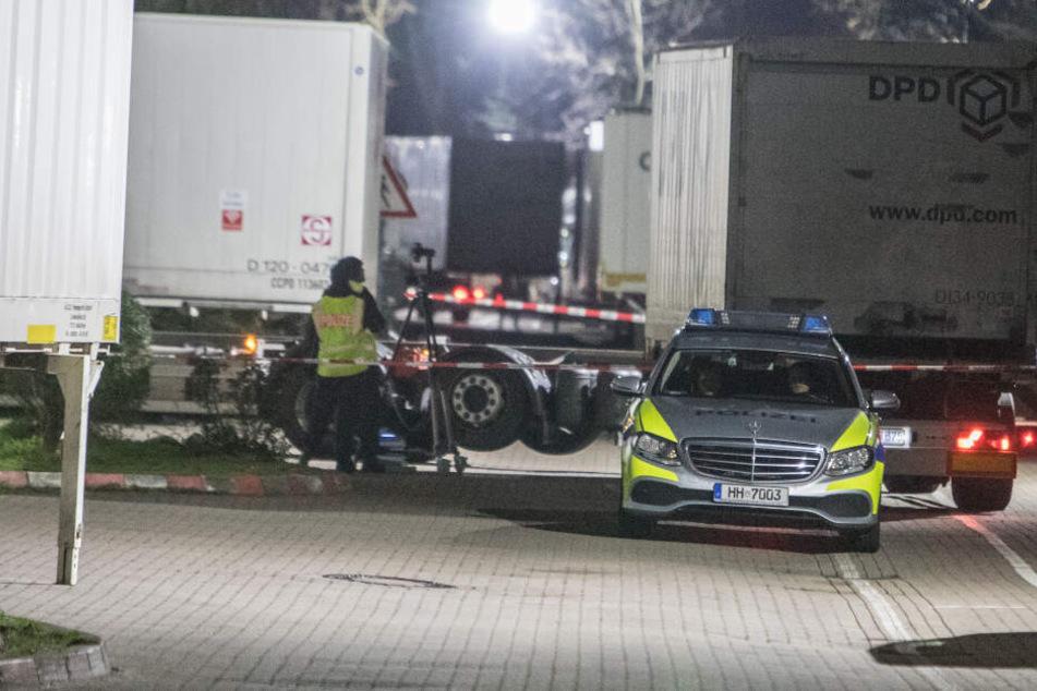 Die Polizei nahm die Ermittlungen auf und versuchte den Unfallhergang zu rekonstruieren.