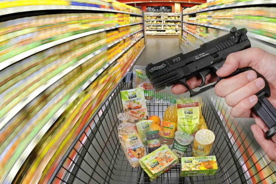Der Mann hatte Supermärkte in Viernheim und Ludwigshafen überfallen. (Symbolbild)