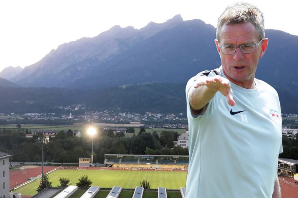 Keine Chance in Schwaz: Trainer Ralf Rangnick und sein Team verlor gegen Huddersfield 0:3.