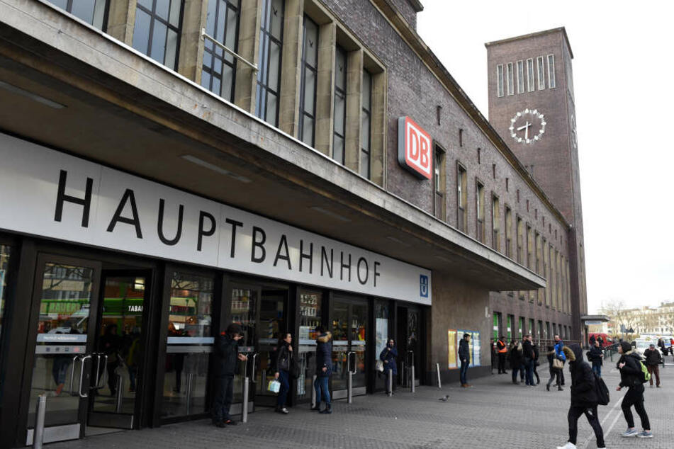 Zugverkehr am Düsseldorfer Hauptbahnhof war eingeschränkt.