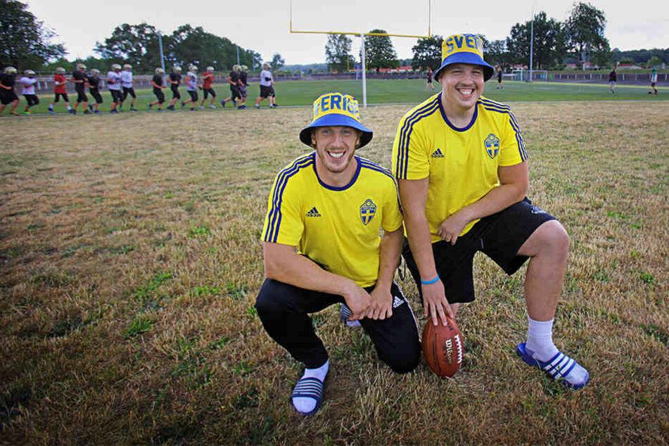 Diese zwei Dresdner setzen auf einen Sieg der Schweden