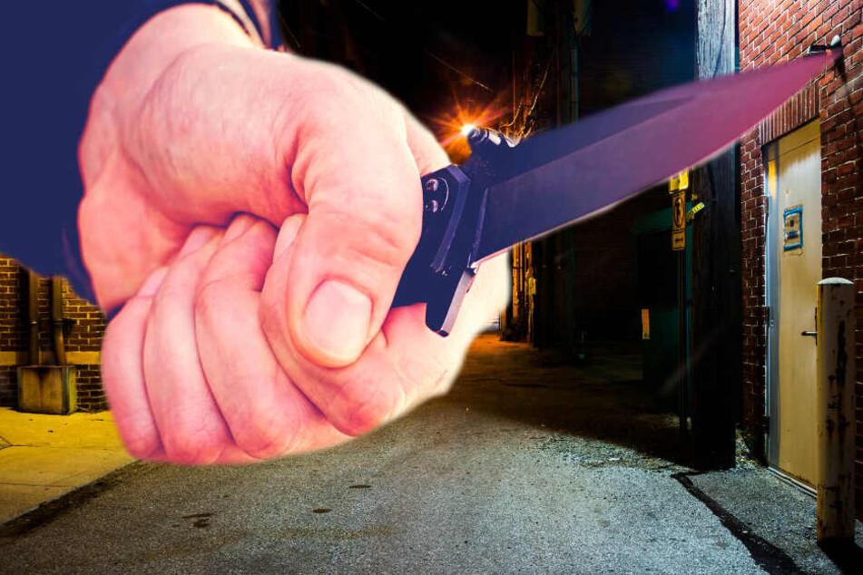 Ein 19-Jähriger wurde mit einem Messer attackiert und lebensbedrohlich verletzt (Symbolbild).