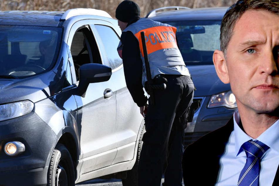 Björn Höcke (44, AfD) wurde das schriftliche Verbot ausgehändigt. Er akzeptierte.