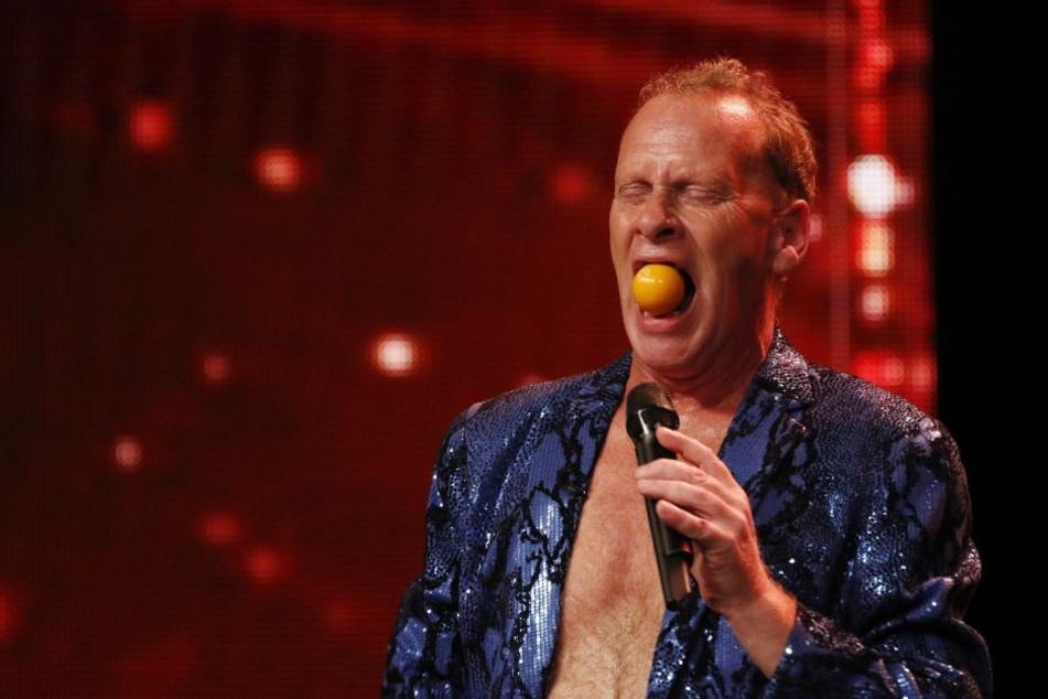 """Stevie Starr (55) aus London tritt bereits zum dritten Mal beim """"Supertalent"""" an."""