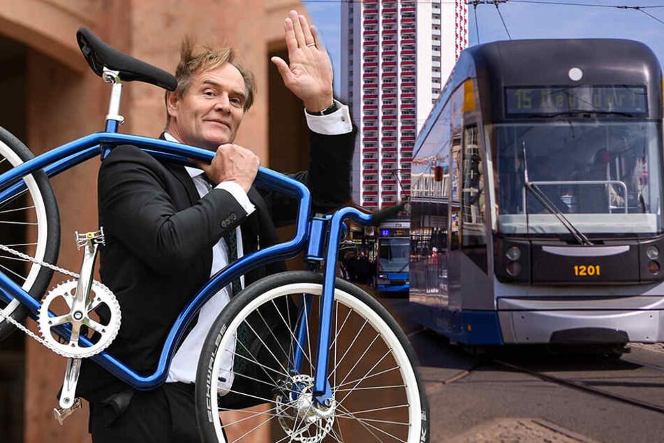 Mit dem Fahrrad, der Bahn oder dem Auto: Wie bewegen sich die Leipziger 2030 vorwärts?
