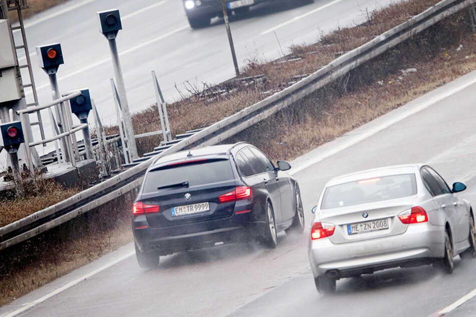 Die A3 bei Köln hat ein Verkehrsproblem, ist besonders stark befahren.