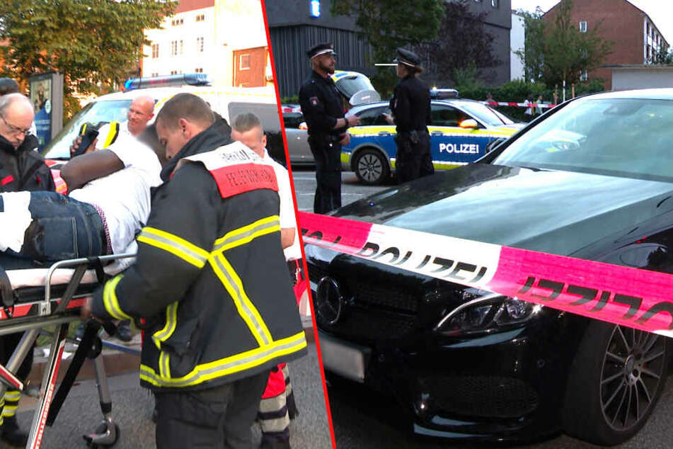 Aggressiver Messerstecher flüchtet trotz Schuss der Polizei