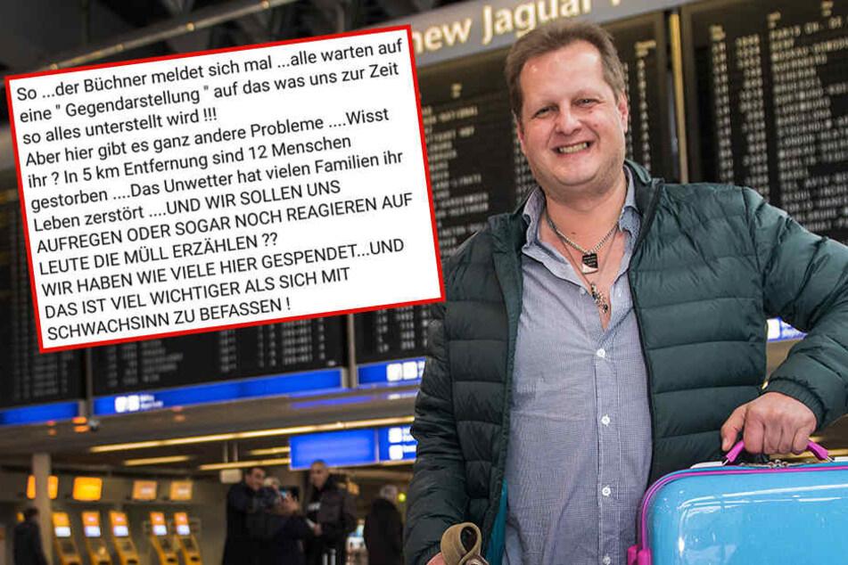 Jetzt platzt ihm der Kragen! Jens Büchner rastet auf Facebook aus