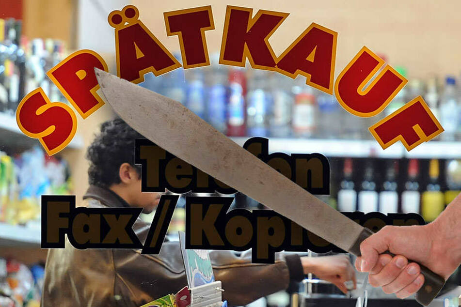 Horror im Späti: Maskierte Männer mit Machete auf Beutezug