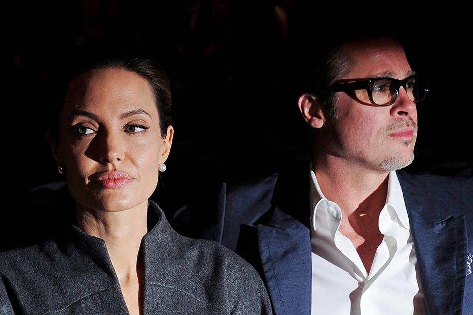 Der Scheidungsstreit geht weiter: Das Noch-Ehepaar Angelina Jolie und Brad Pitt.