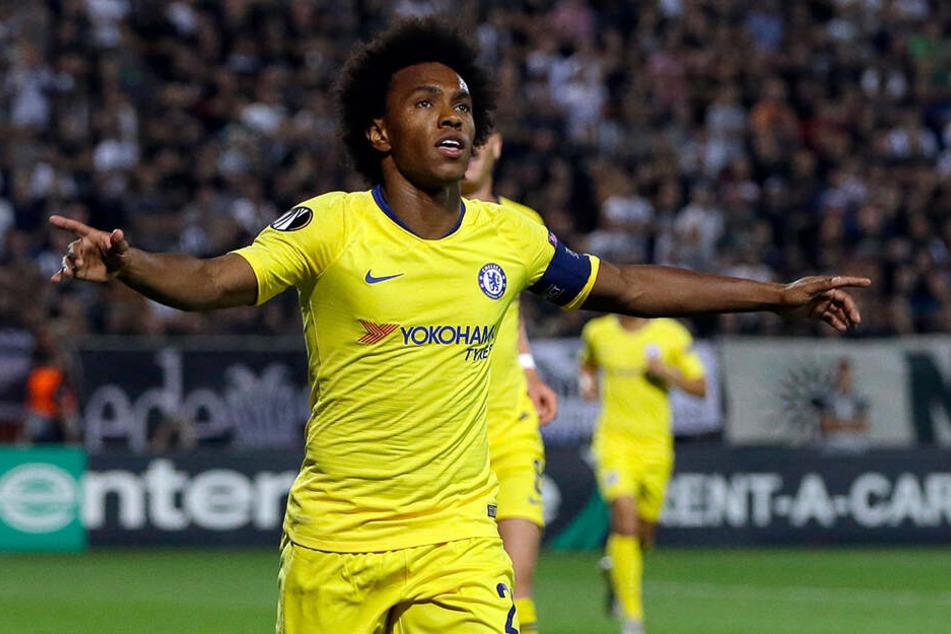 Der FC Chelsea schob dem Transfer von Willian zu Paris Saint-Germain einen Riegel vor.